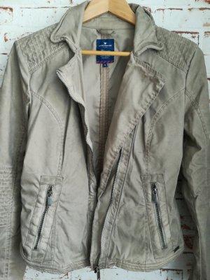 Tom Tailor Biker Jacket grey brown
