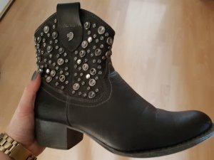 Tom Tailor Denim Korte laarzen zwart