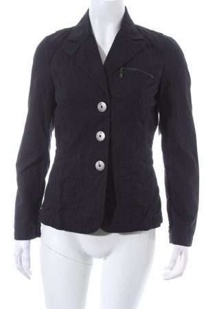 Tom Tailor Blazer dunkelblau Casual-Look