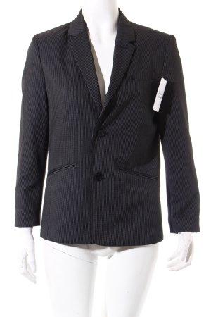 Tom Tailor Blazer black brown-black pinstripe business style