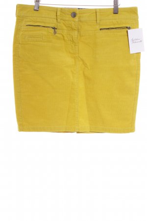 Tom Tailor Bleistiftrock limettengelb Casual-Look
