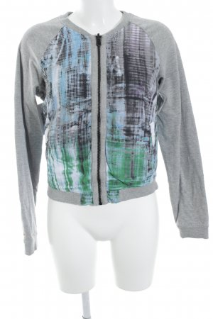 Tom Tailor Blouson abstract pattern athletic style