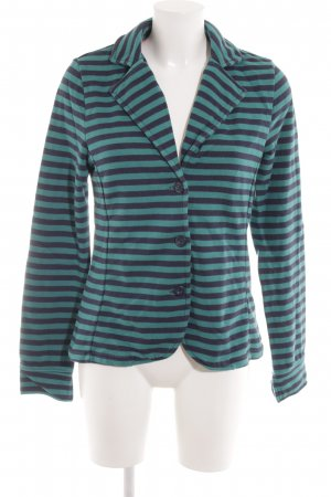 Tom Tailor Blouson dark blue-turquoise striped pattern casual look