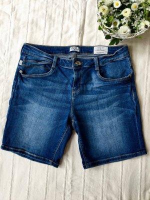 TOM TAILOR Blue Jeans Short, 38/Medium