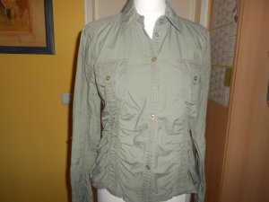 Tom Tailor- Bluse in Khaki Gr. 36