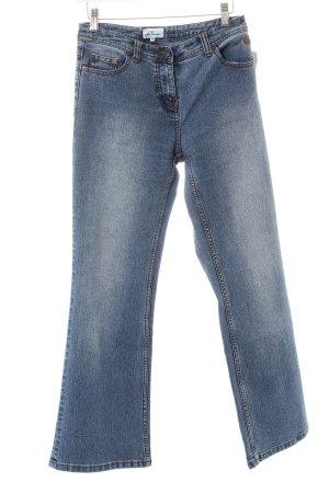 Tom Tailor Boot Cut Jeans blau Casual-Look