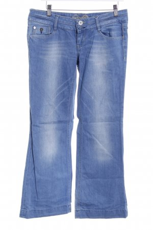 Tom Tailor Boot Cut Jeans blau sportlicher Stil
