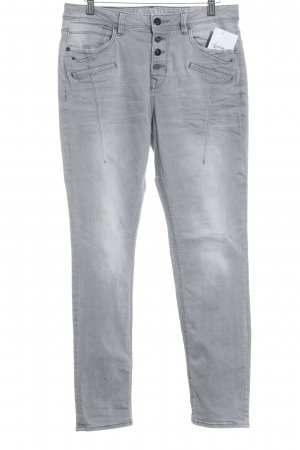 Tom Tailor Boot Cut Jeans dunkelgrau Casual-Look