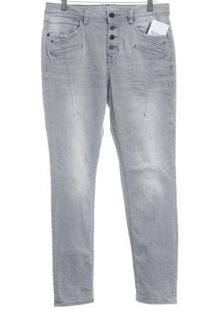 Tom Tailor Boot Cut Jeans dark grey casual look