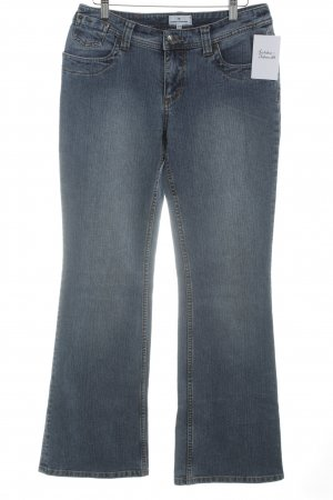 Tom Tailor Boot Cut Jeans kornblumenblau-stahlblau Casual-Look