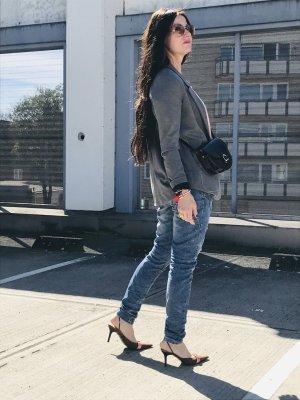 Tom Tailor Boyfriend-Blazer grau Street-Fashion-Look