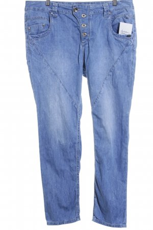 Tom Tailor Boyfriendjeans blau Casual-Look