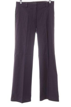 Tom Tailor Pantalon à pinces violet style d'affaires