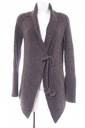 Tom Tailor Cardigan dunkelgrau meliert Casual-Look