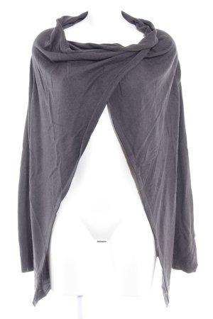 Tom Tailor Cardigan dunkelgrau schlichter Stil