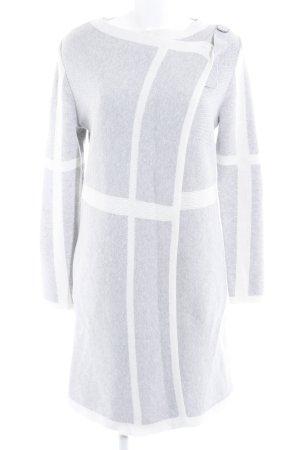 Tom Tailor Cardigan gris clair-blanc style décontracté