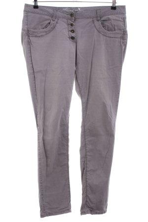 Tom Tailor Pantalon cargo gris clair style décontracté