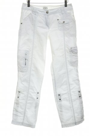 Tom Tailor Cargo Pants white casual look