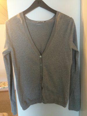 Tom Tailor Casual Strickjacke Farbe: grau Gr. M