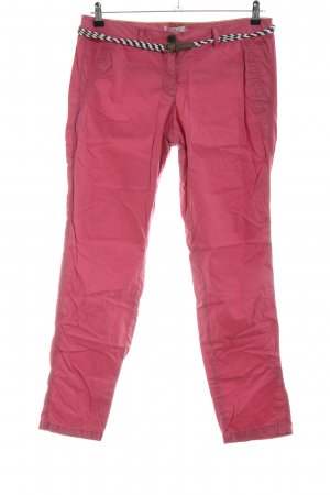 Tom Tailor Chinohose pink Casual-Look