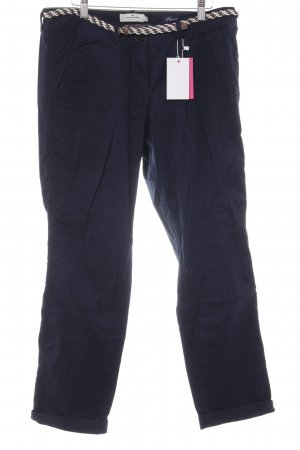 Tom Tailor Chino azul oscuro look casual