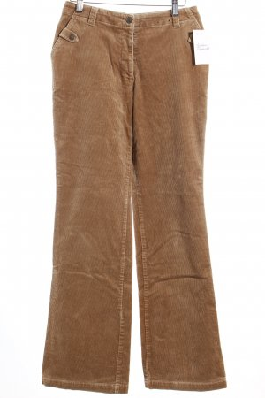 Tom Tailor Cordhose hellbraun Casual-Look