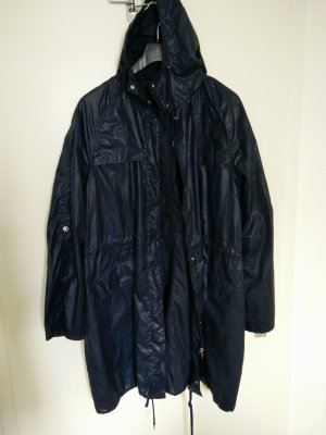 Tom Tailor Damen Mantel im Oversize Look, marine, Gr. 44