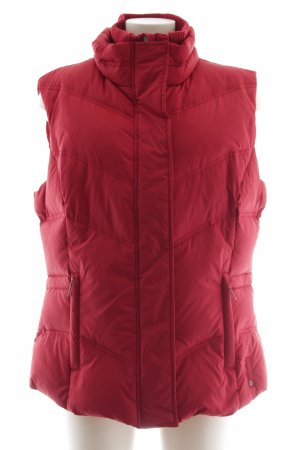 Tom Tailor Down Vest red casual look