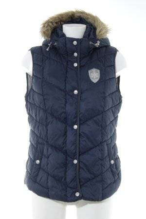 Tom Tailor Donsvest donkerblauw casual uitstraling