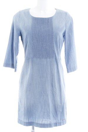 Tom Tailor Denim A-Linien Kleid himmelblau Casual-Look
