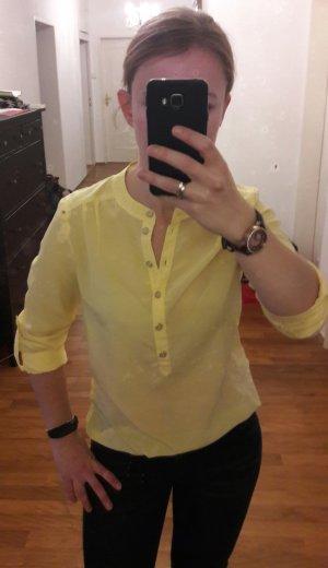 Tom Tailor Denim Bluse gelb XS wie neu