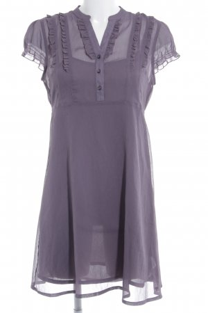 Tom Tailor Denim Blouse Dress grey lilac casual look
