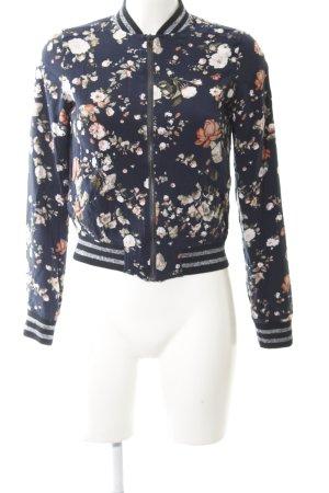 Tom Tailor Denim Bomber Jacket flower pattern casual look