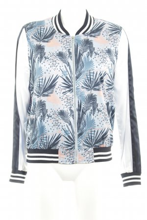 Tom Tailor Denim Bomberjacke florales Muster Casual-Look
