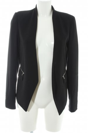 Tom Tailor Denim Blazer Boyfriend negro elegante