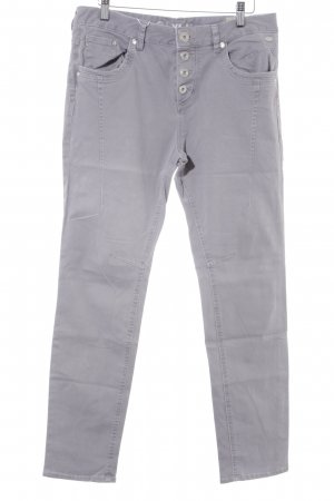 Tom Tailor Denim Pantalón boyfriend gris claro estilo «business»