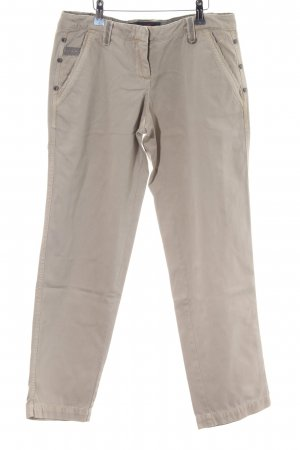 Tom Tailor Denim Chinohose wollweiß Casual-Look