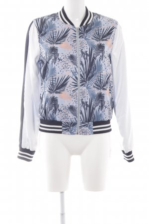 Tom Tailor Denim College jack bloemen patroon Beach-look