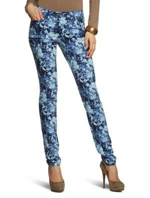 TOM TAILOR Denim Damen Jeans- extra skinny Skinny / Slim Fit (Röhre) Niedriger Bund- Blau Größe 31