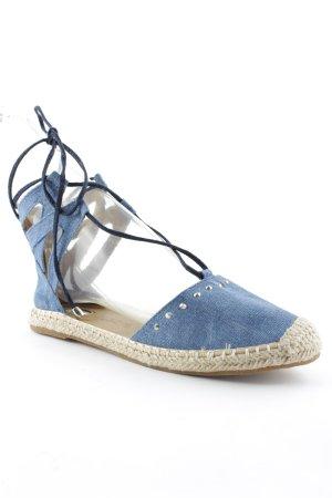 Tom Tailor Denim Espadrille sandalen leigrijs simpele stijl