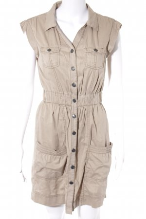 Tom Tailor Denim Vestido tipo blusón beige look casual