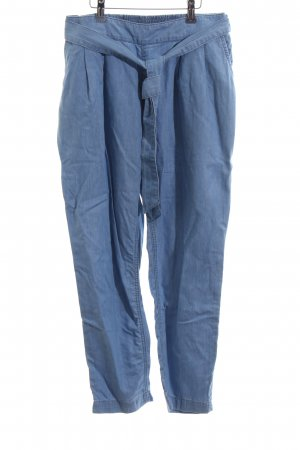 Tom Tailor Denim High Waist Trousers blue casual look