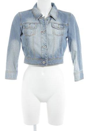 Tom Tailor Denim Jeansjacke blau-hellblau Casual-Look