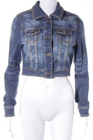 Tom Tailor Denim Jeansjacke blau Washed-Optik