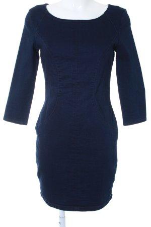 Tom Tailor Denim Jeanskleid dunkelblau schlichter Stil