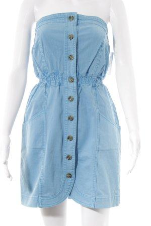 Tom Tailor Denim Jeanskleid kornblumenblau Jeans-Optik