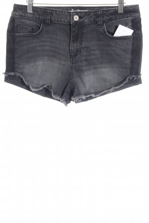 Tom Tailor Denim Jeansshorts schwarz Casual-Look