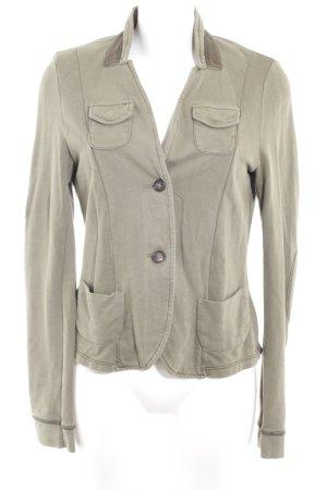 Tom Tailor Denim Jersey blazer khaki casual uitstraling