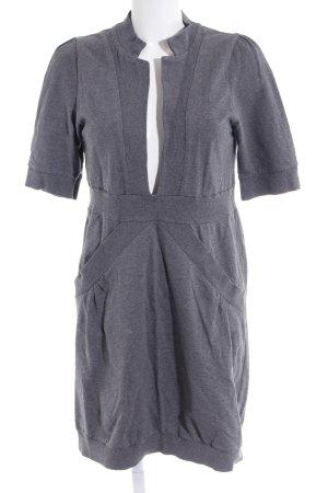 ad87a4c5ba Tom Tailor Denim Jersey Dress dark grey themed print skater style