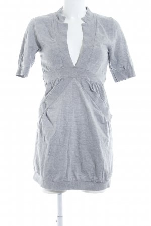 Tom Tailor Denim Robe en jersey gris style athlétique